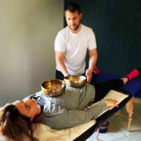 Massage VIBRATOIRE et SONORE
